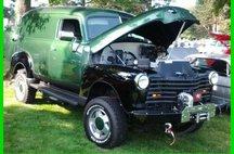 1951 Chevrolet Award Winning Custom Panel Truck