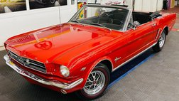 1965 Ford Mustang - CONVERTIBLE - 289 V8 ENGINE - AUTO TRANS - SEE V