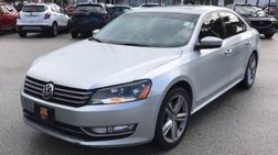 2014 Volkswagen Passat 1.8T SEL Premium PZEV