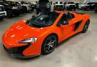 2015 McLaren 650S Base 2dr Convertible Carbon Fiber 1-owner