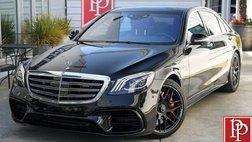 2020 Mercedes-Benz S-Class AMG S 63