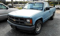 1991 Chevrolet C/K 1500 Reg. Cab W/T 8-ft. bed 2WD