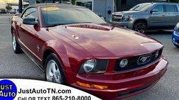 2007 Ford Mustang Premium Convertible 2D