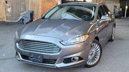 2013 Ford Fusion Hybrid Titanium