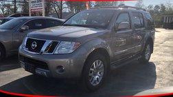 2008 Nissan Pathfinder LE Sport Utility 4D