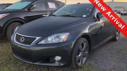 2010 Lexus IS 350C Base