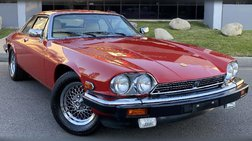 1990 Jaguar XJ-Series XJS Rouge