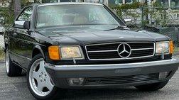 1990 Mercedes-Benz 560-Class 560 SEC