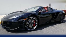 2013 McLaren MP4-12C ONLY 9K MILES~ CLEAN CARFAX~ WELL SERVICED~ RED LE