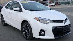 2016 Toyota Corolla 4DR SDN CVT S