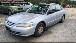 2001 Honda Accord Value