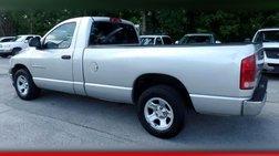 2002 Dodge Ram 1500 2dr Reg Cab 120