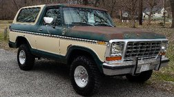 1979 Ford Bronco 2dr XLT