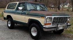 1979 Ford Bronco 2dr XLT