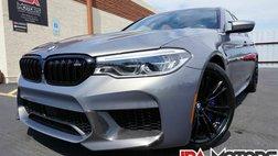 2019 BMW M5 M5 Sedan HUGE $127k MSRP Carbon Fiber Stratus Grey