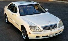 2001 Mercedes-Benz S-Class S 600
