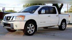 2010 Nissan Titan LE Crew Cab 2WD SWB