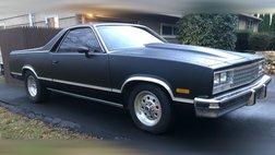 1983 Chevrolet El Camino Base