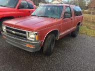 1992 Chevrolet S-10 Blazer 2-Door 2WD