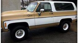 1975 Chevrolet Blazer 2-Door 4WD