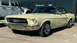 1967 Ford Mustang Convertible Mustang
