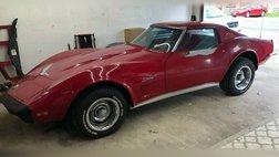 1973 Chevrolet Corvette 1973 CHEVROLET CORVETTE COUPE