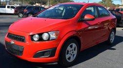 2014 Chevrolet Sonic LS Manual