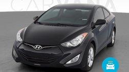 2013 Hyundai Elantra Coupe SE Coupe 2D