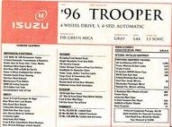1996 Isuzu Trooper S