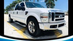 2010 Ford F-250 XLT Crew Cab Long Bed 2WD