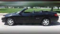 2003 Toyota Camry Solara SE Convertible