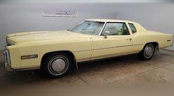 1978 Cadillac Eldorado 2 Door Hard Top Coupe