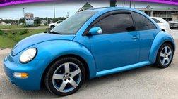 2004 Volkswagen New Beetle Satellite Blue