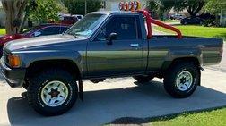 1986 Toyota Pickup Turbo