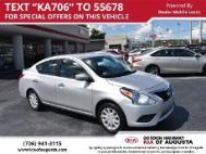 2017 Nissan Versa 1.6 SV   36,759 Mi. Augusta, GA ...