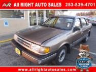 1989 Ford Tempo AWD
