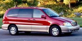 2002 Kia Sedona EX