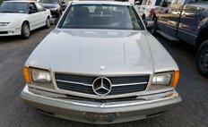 1982 Mercedes-Benz 380-Class 380 SEC