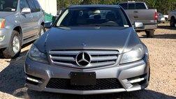 2012 Mercedes-Benz C-Class 4dr Luxury Sdn 3.0L