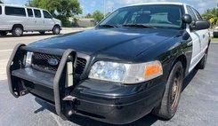 2011 Ford Crown Victoria Police Interceptor Pursuit