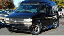 1998 Chevrolet Astro Cargo Van YF7 Upfitter