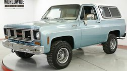 1978 GMC Jimmy 4X4 FUEL INJECTED V8 PS PB AC