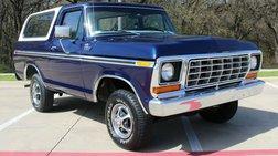 1978 Ford Bronco CUSTOM V8 4X4!