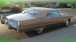 1967 Cadillac DeVille Convertible All Original, Numbers Matching