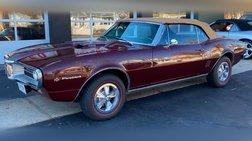 1967 Pontiac Firebird 2dr Convertible