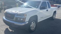 2004 GMC Canyon 2WD Ext Cab 128.3