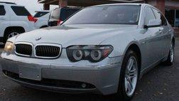 2004 BMW 7 Series 760Li