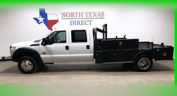 2013 Ford Super Duty F-450 Diesel Crew CM Skirted Flat Bed Bluetooth Chrome