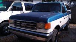 1988 Ford Bronco 2dr Wagon