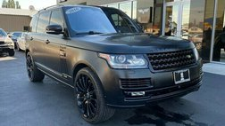 2016 Land Rover Range Rover Supercharged LWB